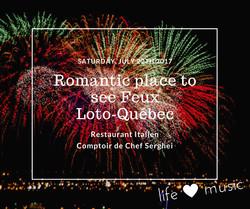Romantic Feux d'Artifice