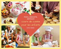 Cours de pizza pour les enfants