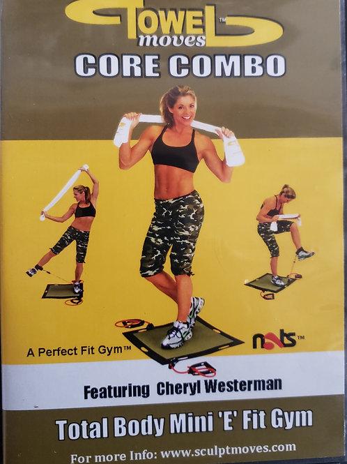 Core Combo DVD Featuring Cheryl Westerman