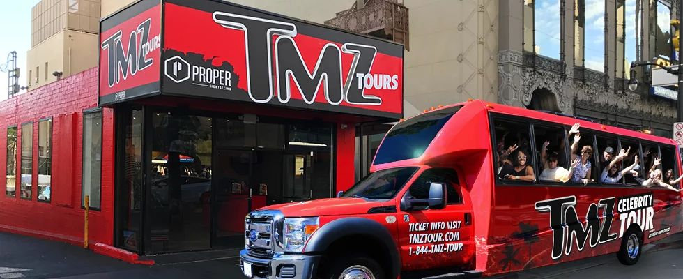 TMZ Tours is located in Hollywood.
