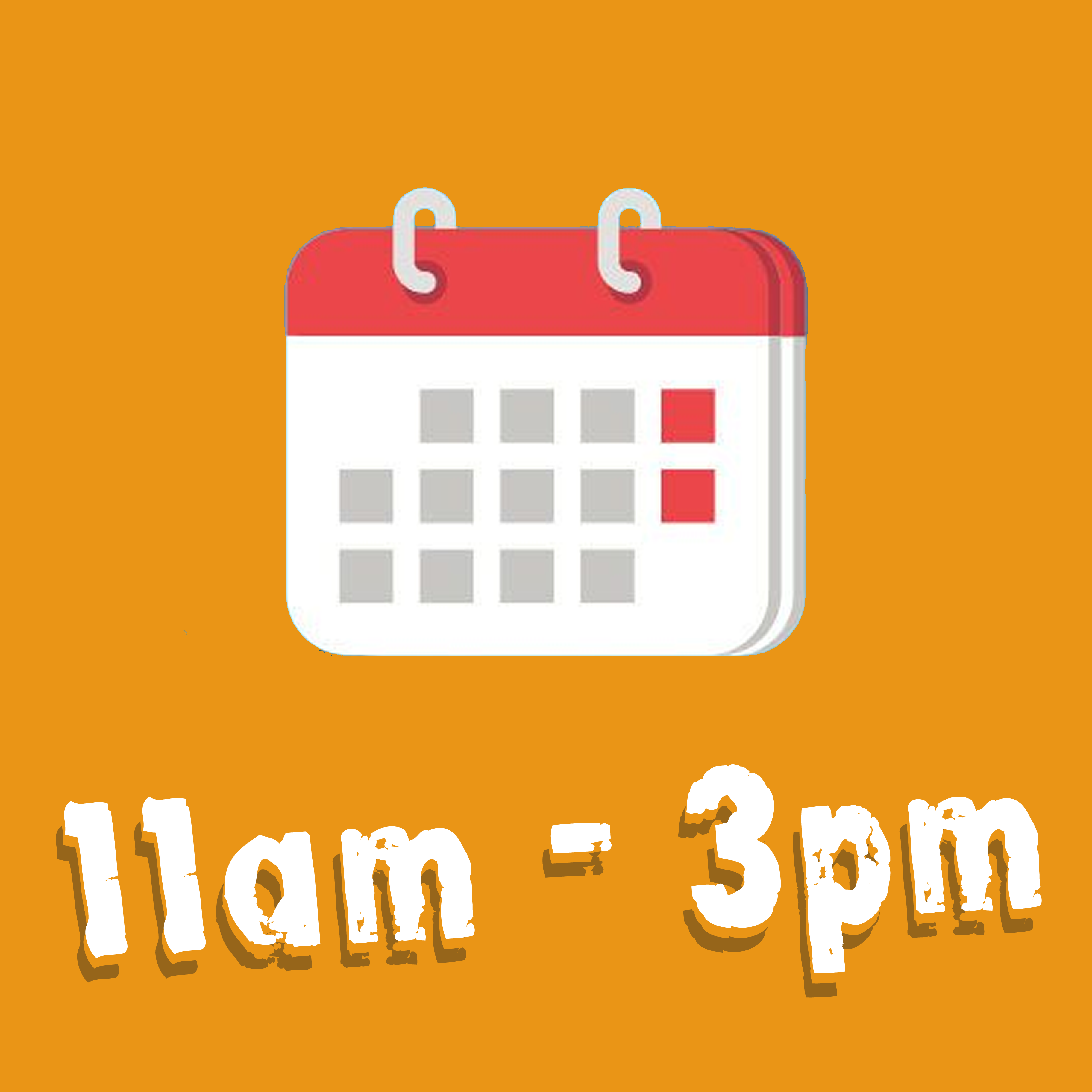 Week Day Term Time Visit 11am - 3pm
