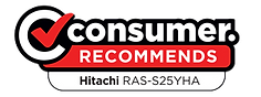 Consumer New Zealand Recommend Hitachi RAS-S25YHA Heat Pump Air Conditioner
