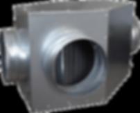 Counter Cross Flow Heat Exchanger with Aluminium Core