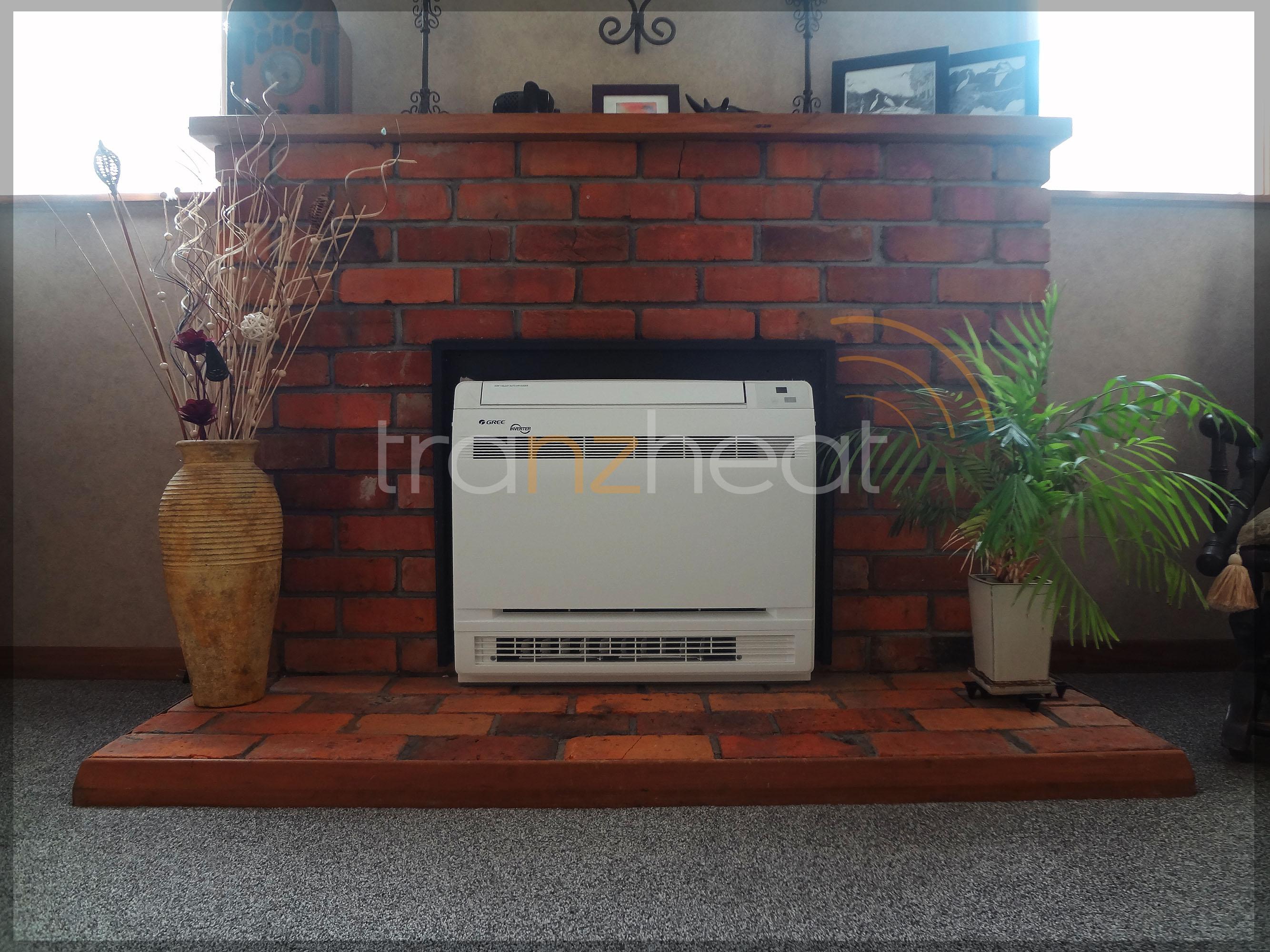Install - Gree Floor-Reuse Fireplace