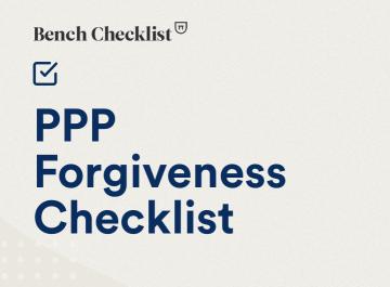 PPP Forgiveness Checklist