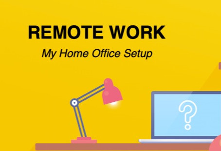 REMOTE WORK - My Home Office Setup