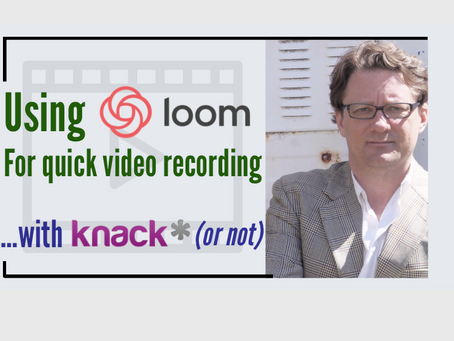 Tools I Use: Loom Video Recording. It's Awesome!