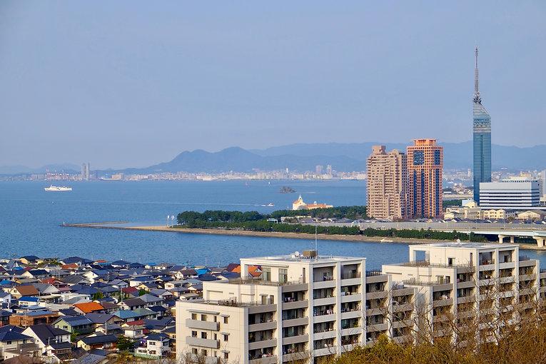 Hakata Bay and Tower .jpeg
