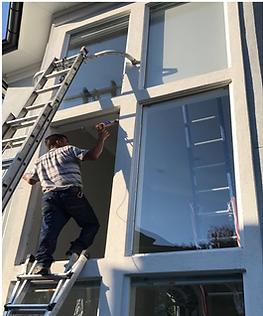 Allen Window Glass at work