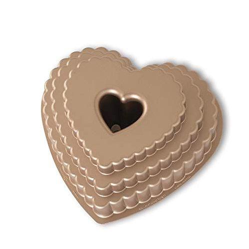 Tiered Heart Bundt® Pan