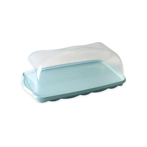 Loaf Cake Keeper (Sea Glass)