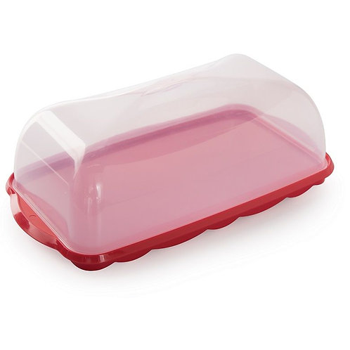 Loaf Cake Keeper (Red)