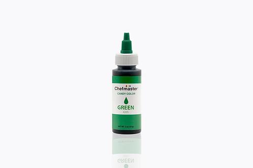 Chefmaster Candy Color Green 2 oz / dozen