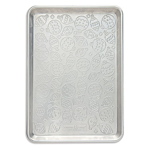 "Embossed Naturals® Ornament Pattern Half Sheet (17.75"" x 12.85"" x 1"")"