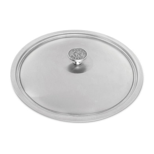 "12"" Stainless Steel Lid"