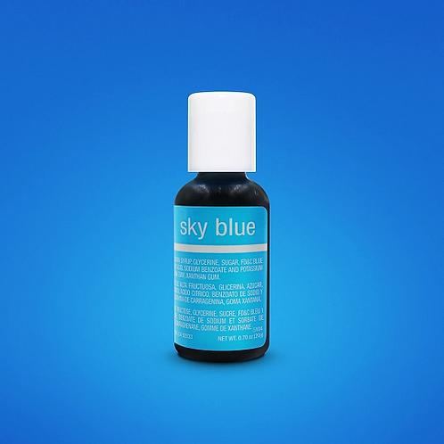 Chefmaster Liqua Gel Color Sky Blue 0.70-ounce / dozen