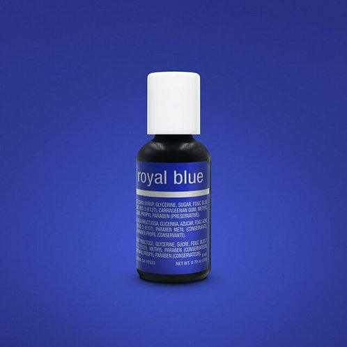 Chefmaster Liqua Gel Color Royal Blue 0.70-ounce / dozen