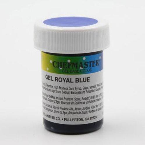Chefmaster 1oz Gel Color Royal Blue /dozen