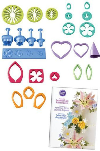 Wilton Gum Paste Flower Cutter Set