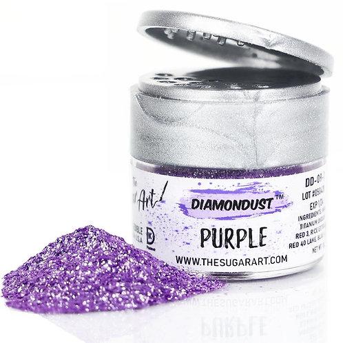 The Sugar Art Diamond Dust Purple 3grams