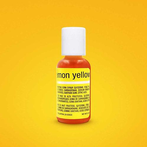 Chefmaster Liqua Gel Color Lemon Yellow 0.70-ounce / dozen