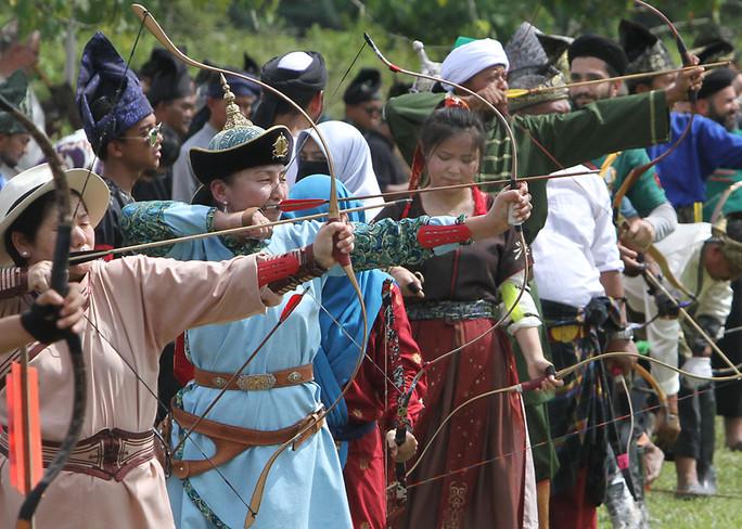 Bullseye for International Archery competition at Seri Menanti
