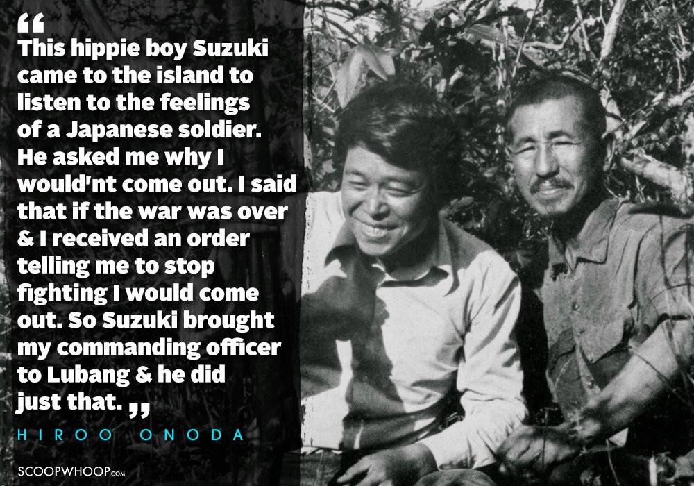 supplied picture Suzuki and Onoda