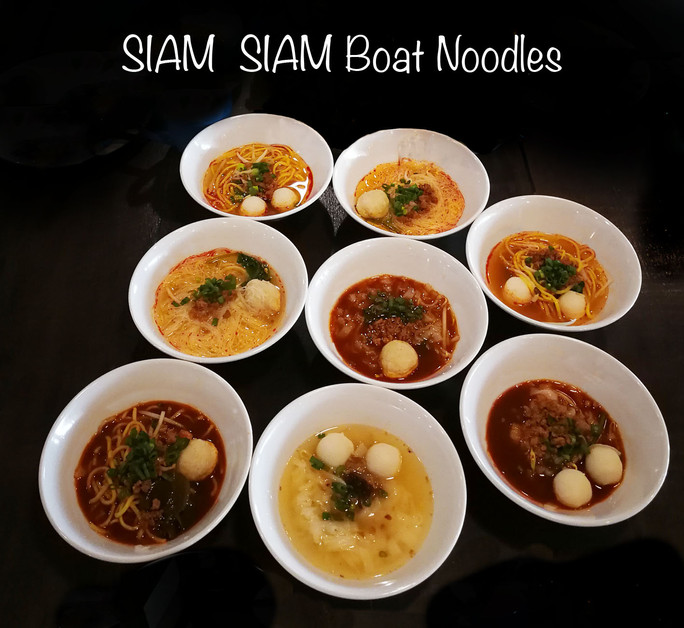 OODLES OF NOODLES AT SIAM SIAM