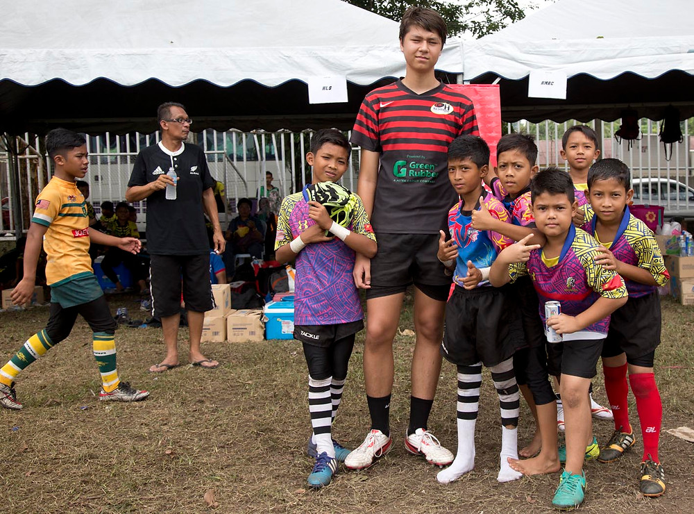 serembanonline photograph of rugby at KGV fields seremban  by Nic Falconer nicaliss