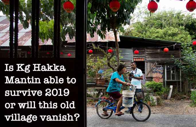 Time will tell if Kampung Hakka Mantin is history - one way or the other.