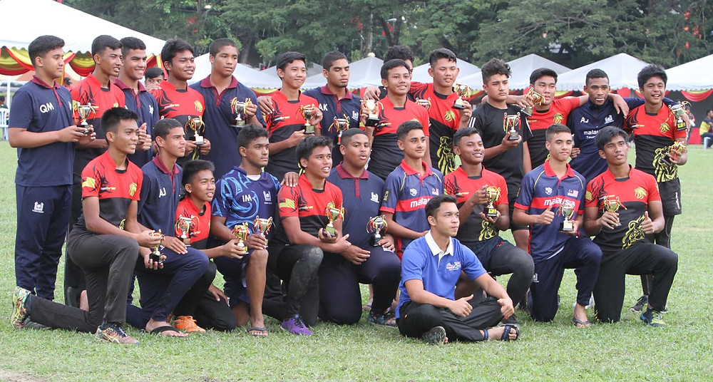 serembanonline photograph of NS7's rugby teams SDAR and Islamia College from South Africa in seremban by photographer nic falconer nicaliss