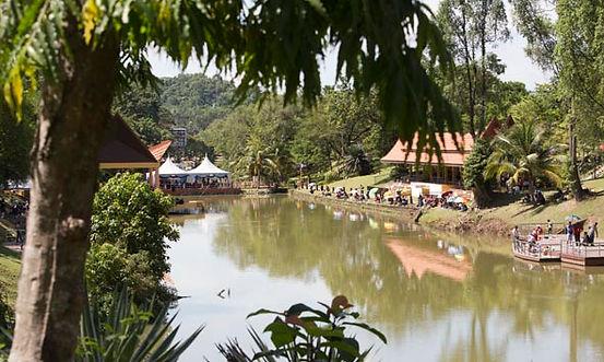 Taman Tasik or Lake Gardens in Seremban