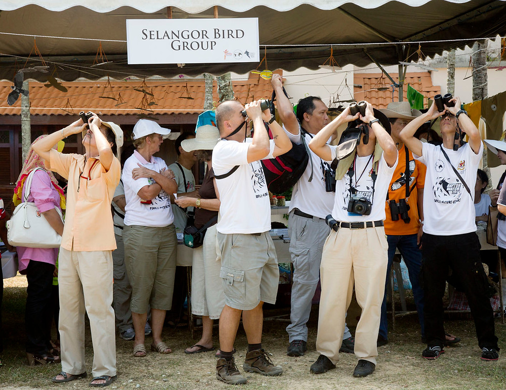 seremban online photograph of Raptor Watch at Port Dickson, Cape Rachado, Tanjung Tuan by photographer Nic Falconer nicaliss