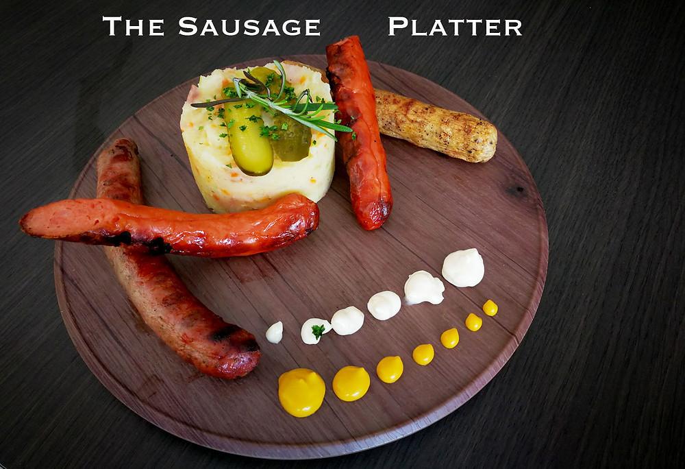 serembanonline photograph of the sausage platter at MoVida, d'Tempat Country Club at Sendayan by photographer Nic Falconer nicaliss