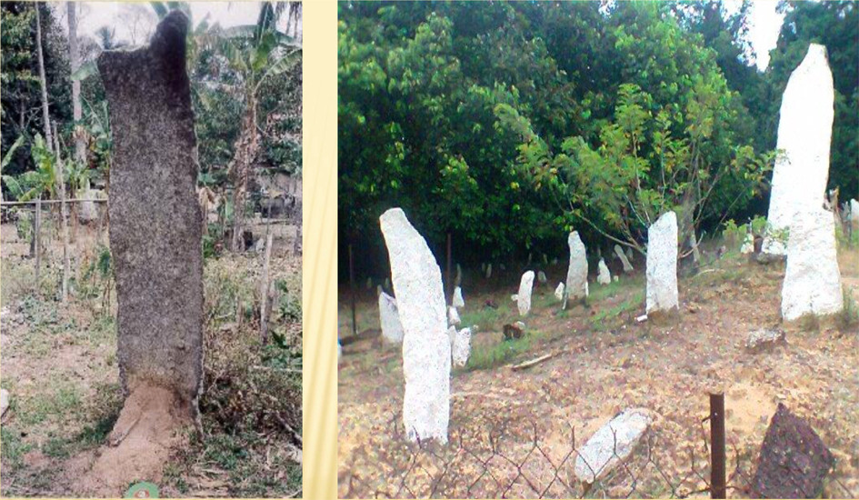 contributed picture to serembanonline of megaliths in negeri sembilan