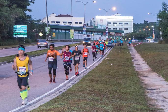 Half a marathon to go...