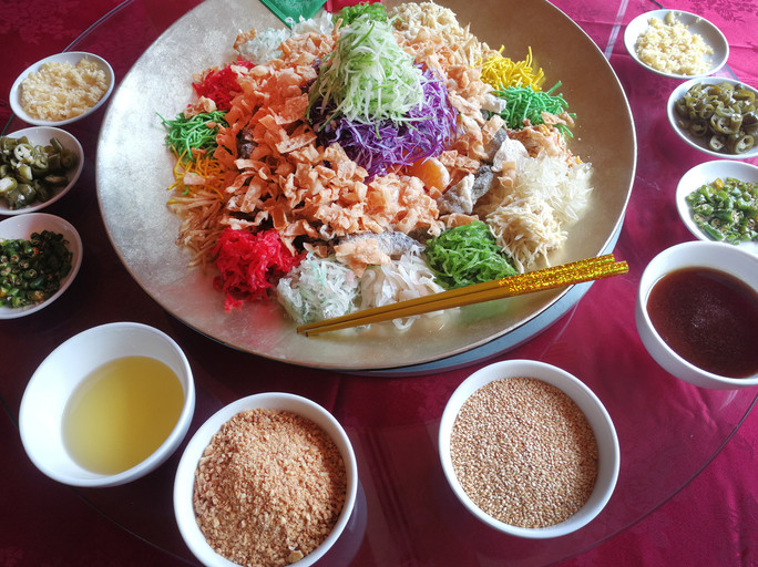 Toss some Yee Sang this year