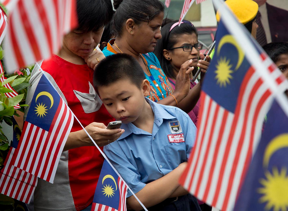 serembanonline picture of Malaysia day at the Visitation church in seremban by photographer Nic Falconer