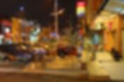 Night photograph of Jalan Dato Sheikh Ahmad in Seremban