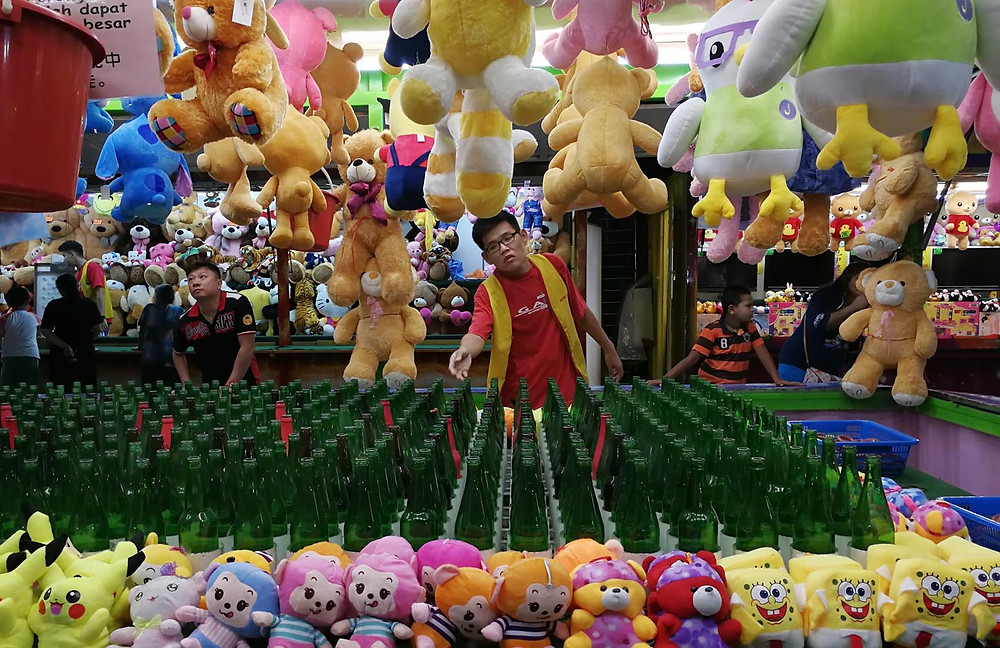 Photograph of fun fair rides in seremban for serembanonline by photographer nic falconer