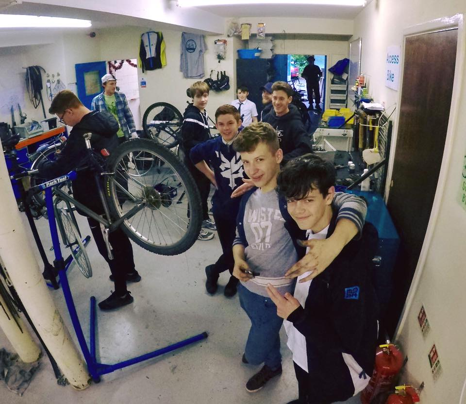 Friends + Bikes = The Dream!