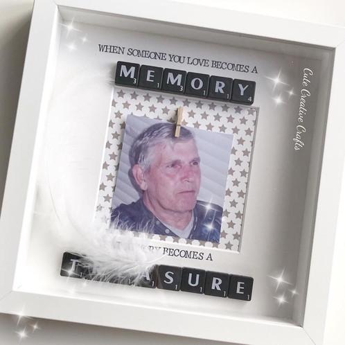 Scrabble Memory Frame