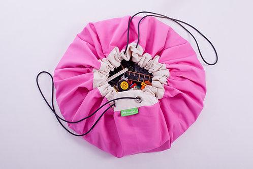 Pink Toy Storage Bag Stuffel