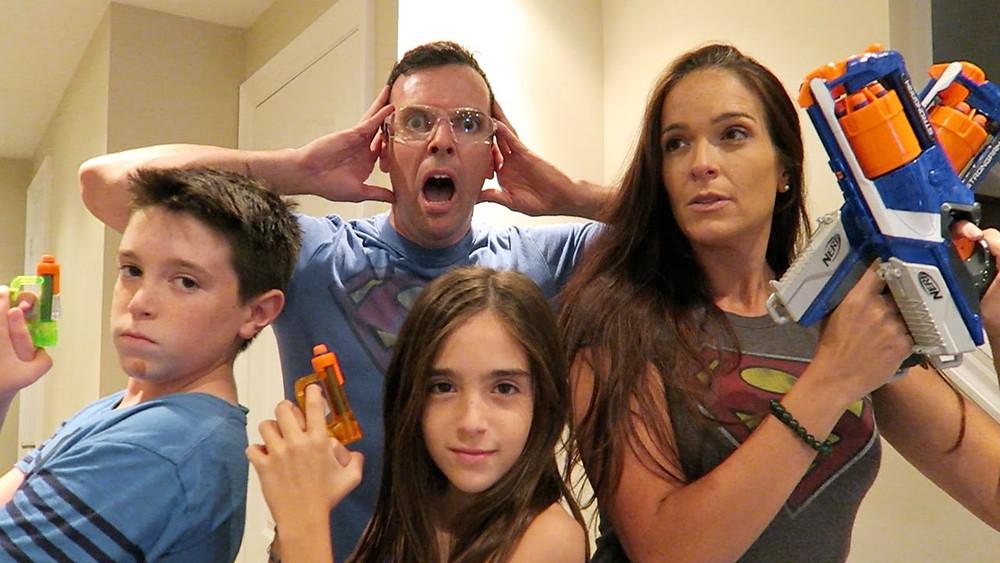 Family Nerf Guns