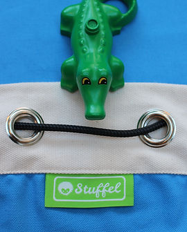 Stuffel Lego Bag