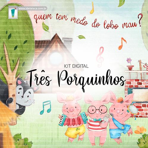 Kit Digital - Três Porquinhos