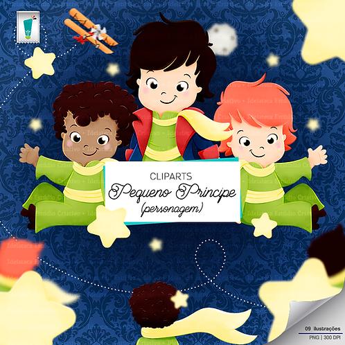 Cliparts Personagem - Pequeno Príncipe