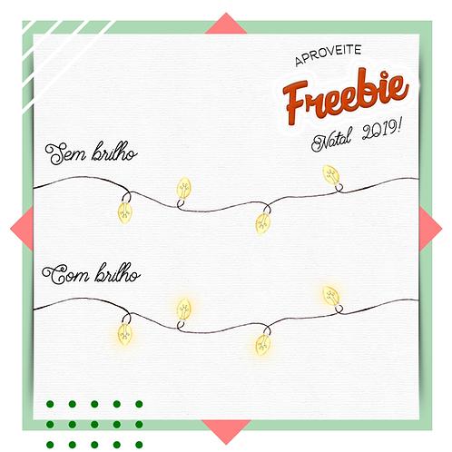 Freebie - Luzinhas