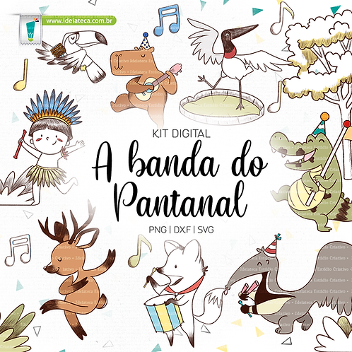 Kit Digital - A banda do Pantanal