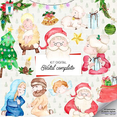 Kit Digital - Natal Completo